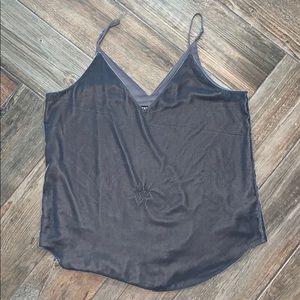 Velvet camisole